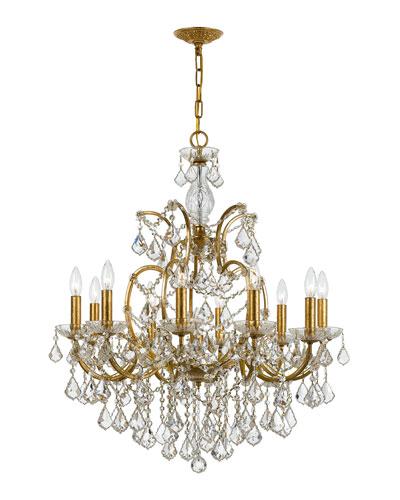 Quick Look - Gold Chandelier Lighting Horchow.com