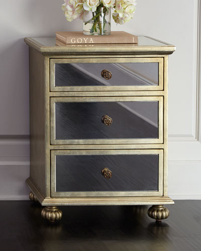 Rita Mirrored Accent Chest