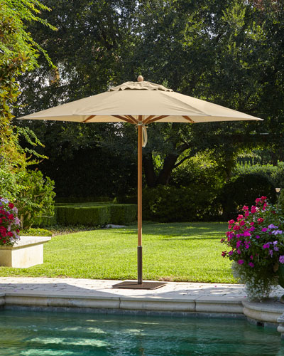 Linen Standard Canopy Outdoor Umbrella