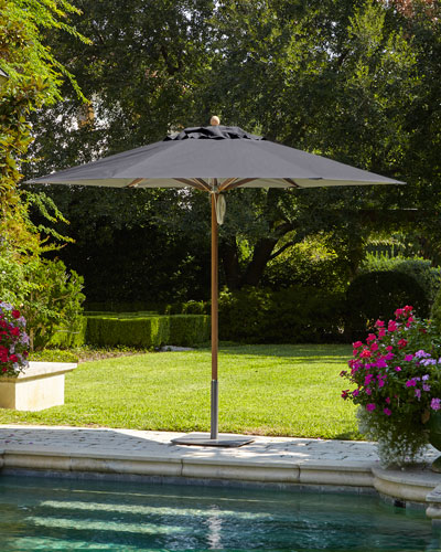 Charcoal Standard Canopy Outdoor Umbrella