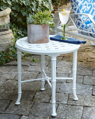 Calcutta Outdoor Occasional Table