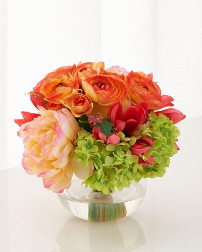 French Bouquet Faux-Floral Arrangement
