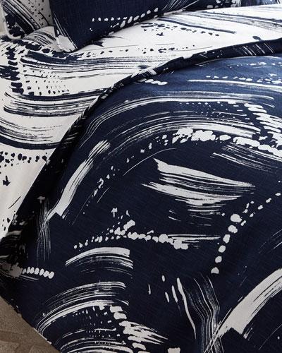 Twin Brushstroke Duvet Cover