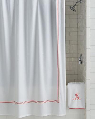 Designer Shower Curtain   horchow.com