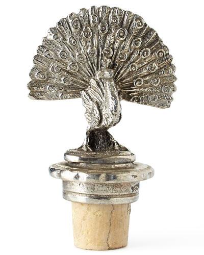 Peacock Bottle Stopper