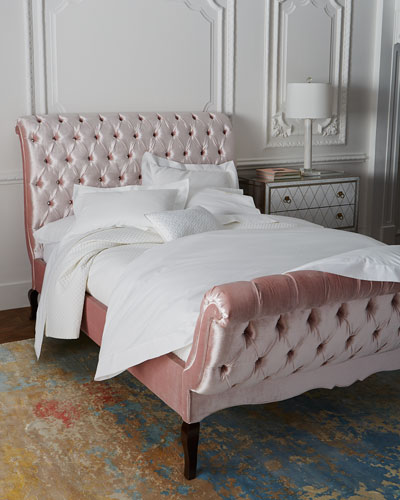 Duncan Tufted Queen Bed