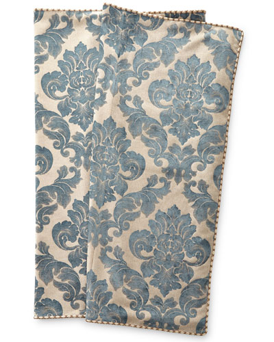 Queen Kendra Damask Bed Scarf