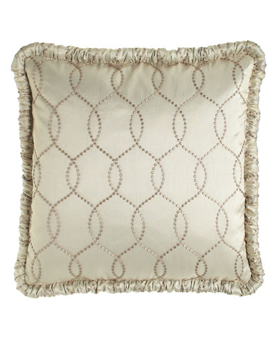 European Cynthia Embroidered Sham