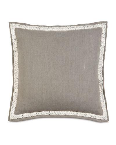 European Breeze Linen Pillow, 27