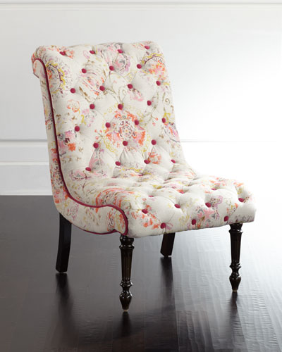 Quick Look. ProdSelect Checkbox. Talia Tufted Linen Chair