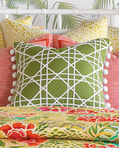 Coconut Grove Lime Pillow, 22