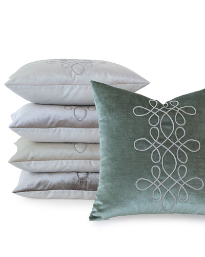 Venice Scroll Pillow, 20