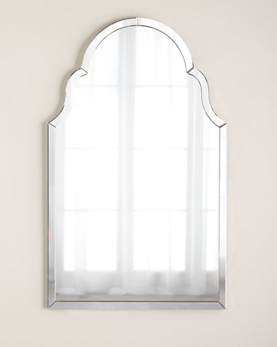 Silvered Mirror-Framed Mirror