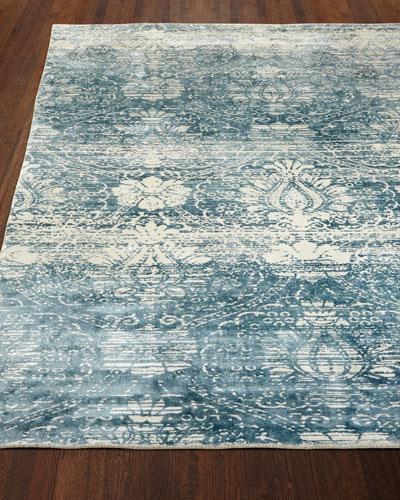 Evening Blue Rug, 10' x 14'