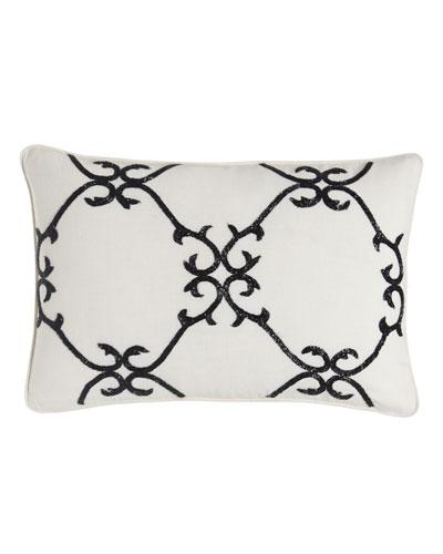 Scrollwork Pillow, 12