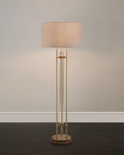 Glass Spear Floor Lamp