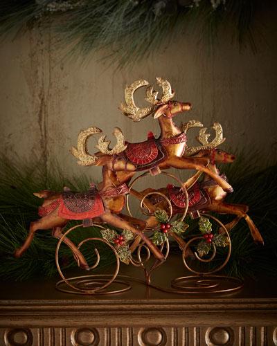 Reindeer Table Centerpiece