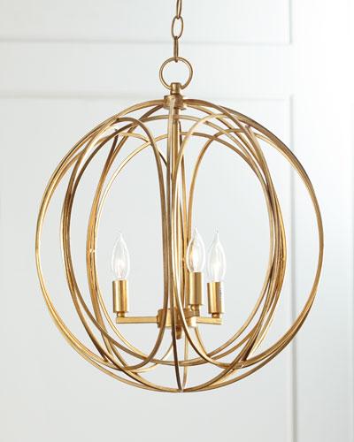 Ofelia Large 3-Light Pendant