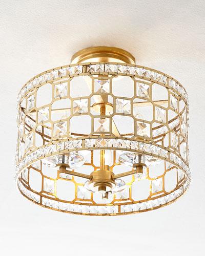 Quick Look - Gold Light Fixture Horchow.com