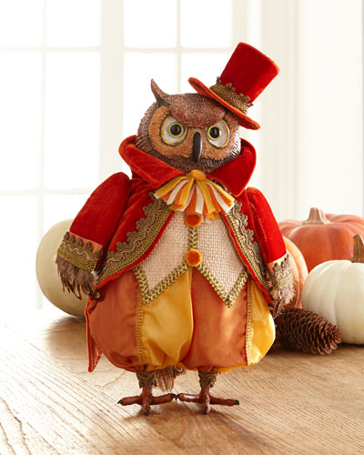 Autumn Wheat Owl Tabletop