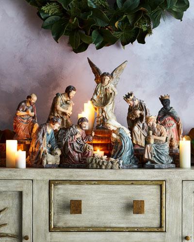 Italian-Style Nativity, 5-Piece Set