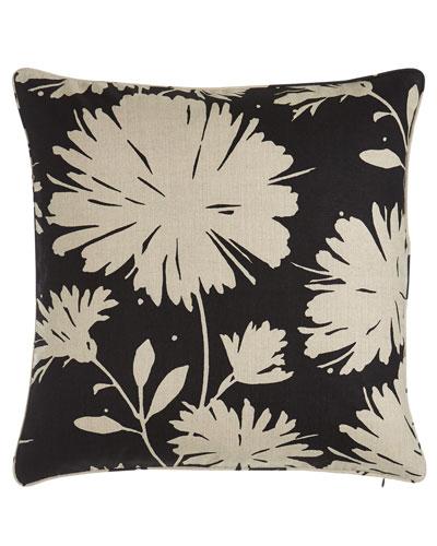 Daisyfield Floral Pillow, 20