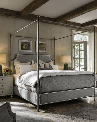 Boxed Canopy Bedroom Furniture | horchow.com