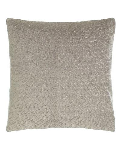 Fuse Embroidered Velvet Pillow, 18
