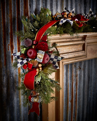Yuletide Manor Garland