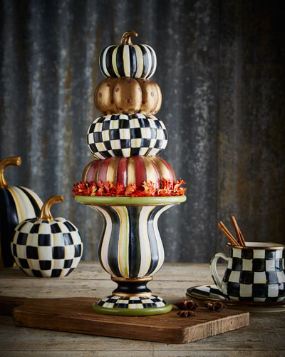 Tabletop Stacking Pumpkins