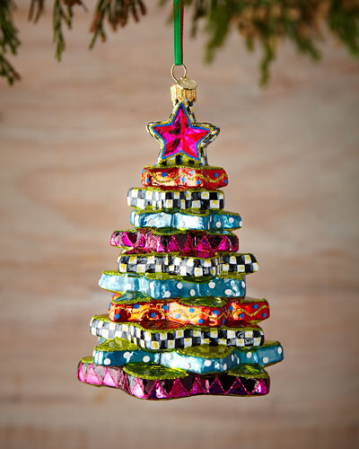 Star Tree Christmas Ornament