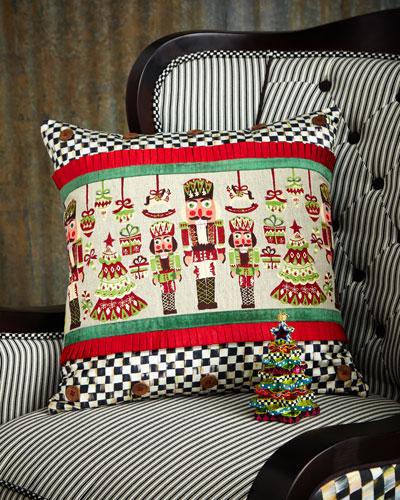 Santa's Workshop Pillow