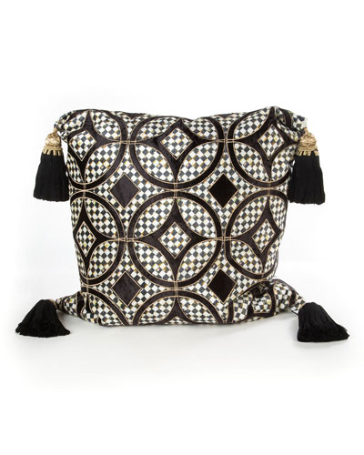 Black Florentine Pillow