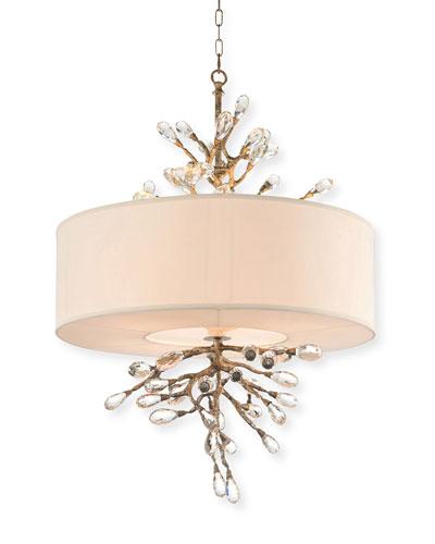 Budding Crystal 4-Light Pendant