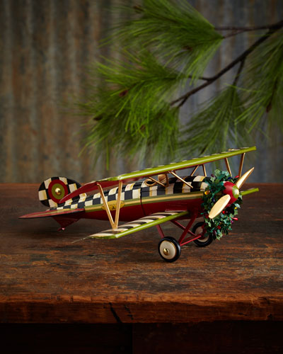 Holiday on Air Decorative Airplane