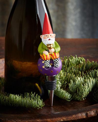 Home Sweet Gnome Bottle Stopper