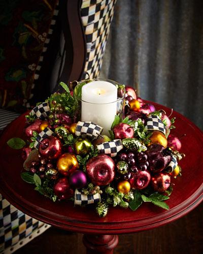 Sugarplum Candle Centerpiece