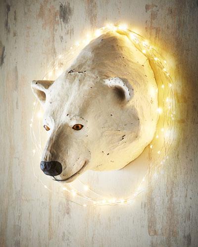 Polar Bear Wall Mount