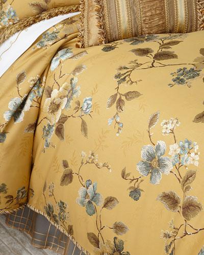 Queen Montiverde Floral Duvet Cover