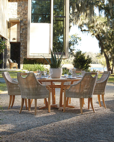 Round Dining Table Furniture Horchow