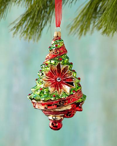 Reflector Tree Christmas Ornament