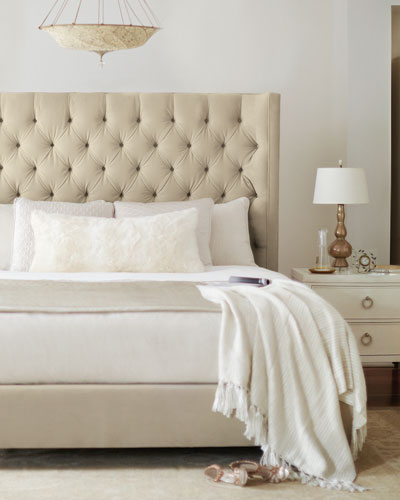 Audrey Tufted California King Bed
