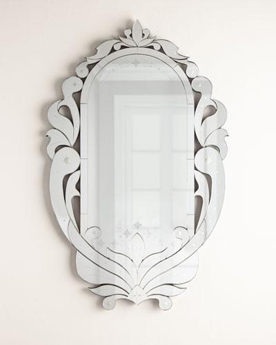 Queen Venetian Mirror