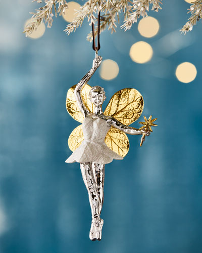 0abf0f4f033 Quick Look. prodSelect checkbox. Botanical Leaf Fairy Christmas Ornament