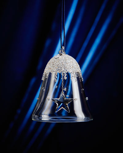 2016 Annual Crystal Bell Christmas Ornament