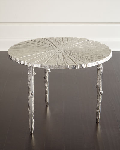 Tree-Texture Side Table