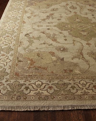 Mint Tapestry Rug, 5'6