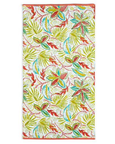 Tropical Palm Hand Towel
