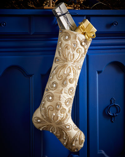 Arabesque Christmas Stocking