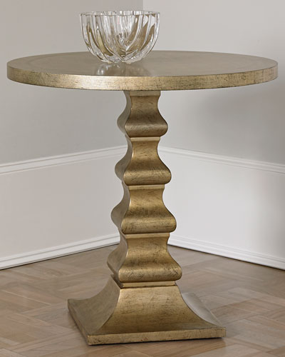 Dionis Champagne Side Table